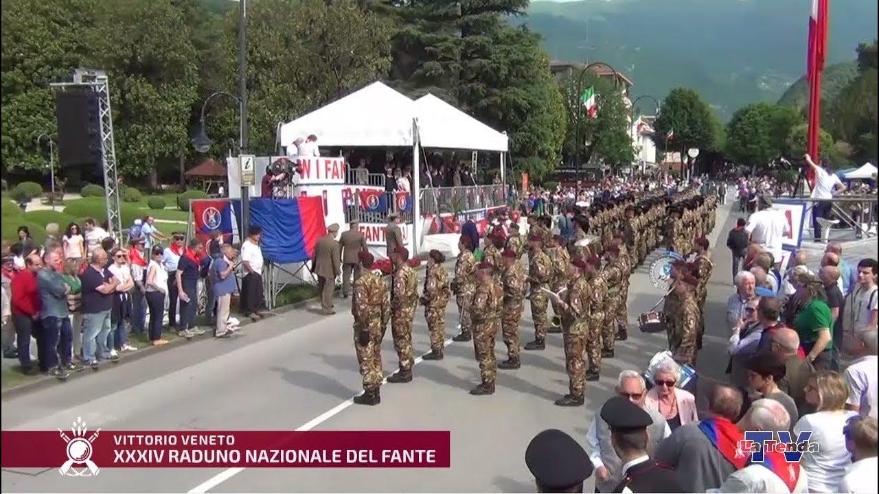 XXXIV Raduno Nazionale Commemorativo del Fante - Sfilata a Vittorio Veneto