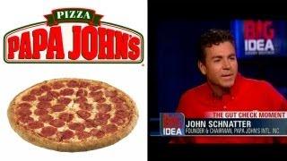 Papa John's Pizza founder John Schnatter interview