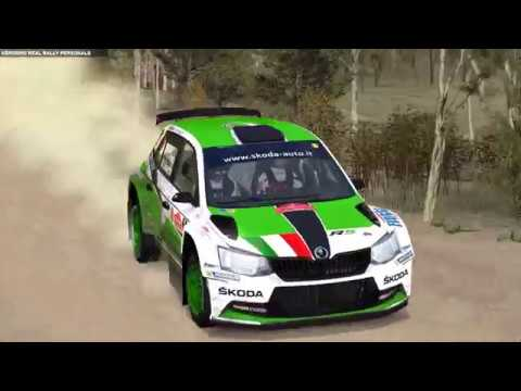 Richard Burns Rally Real Rally - Skoda Fabia R5 2015 - Mineshaft, Canberra, Australia.