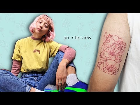An Interview with a Tattoo Artist - @epithumia_rose