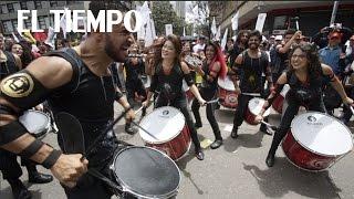 Así fueron las marchas del primero de mayo en Colombia