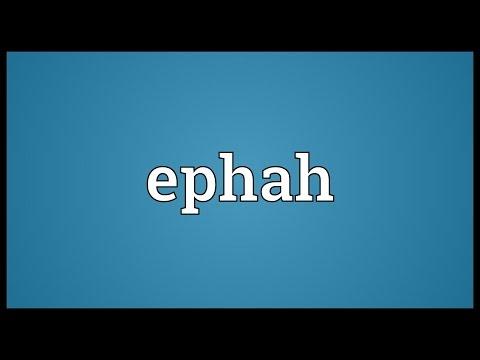 Header of ephah