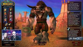 Bajheera - CLASSIC WOW DEMO: Warrior Gameplay (Part 1) - First Look LIVE at Blizzcon 2018