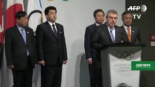 North and South Korea to march under same flag at 2018 Games:IOC