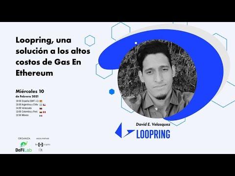 Loopring, una solución a los altos costos de Gas en Ethereum