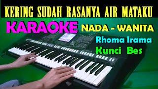 Download GELANDANGAN - Rhoma Irama | KARAOKE Nada Cewek / Wanita , HD