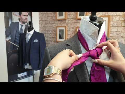 How to tie a tie - Vidalia knot