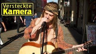 Luca Hänni verkleidet sich als Strassenmusiker I Versteckte Kamera