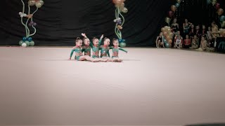 Групповые упражнения Гномики г.Кстово, 2009 г.р. тр. Севальнева БП