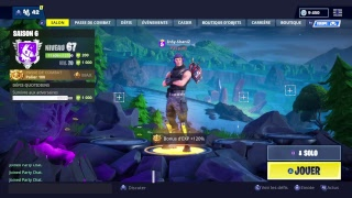 FR| LIVE SKIN SHOGUN FORTNITE