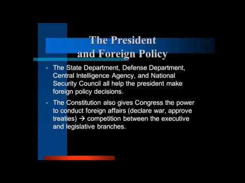 The President and Foreign Policy lecture