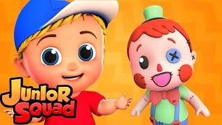 когда игрушки оживают | хэллоуин рифмы | музыка для малышей | Junior Squad Russia | детские песни