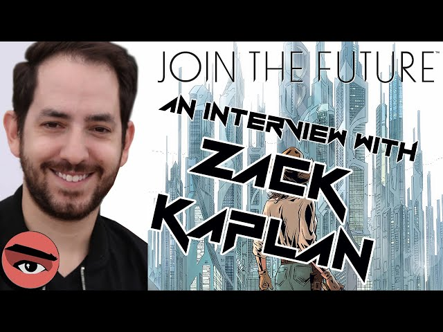E069 Special Guest Zack Kaplan & Join the Future #1 from Aftershock Comics!