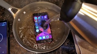 Guy Pours Boiling Water on iPhone SE 2020 - What Happens Next?! 🔥💧