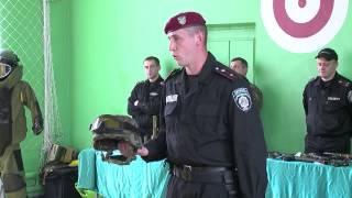 Міліціонери провели урок мужності для учнів школи-гімназії №30 м.Вінниця