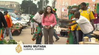 Zambia fans prepare for African Cup finale