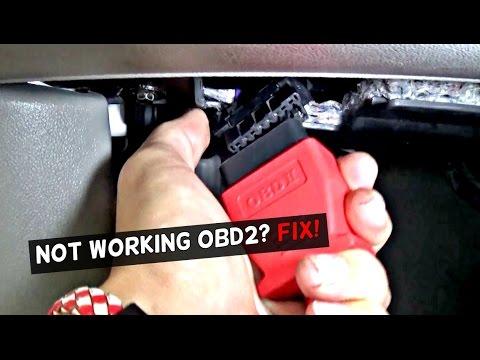 OBD2 PORT NOT WORKING | HOW TO FIX NOT WORKING OBD PORT