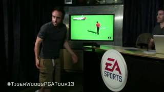 Live Kinect Demo of Tiger Woods PGA Tour 13 [EXTENDED]