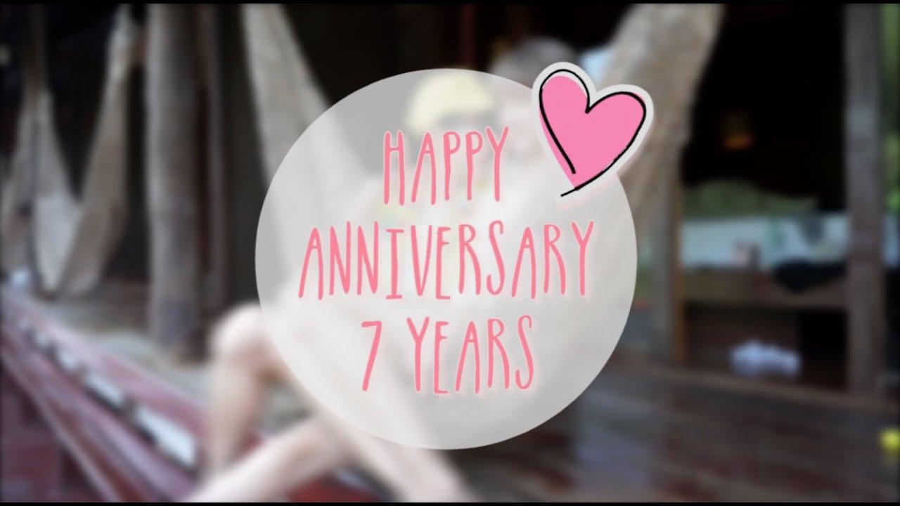 Happy Anniversary 7 Years L QWDN♡