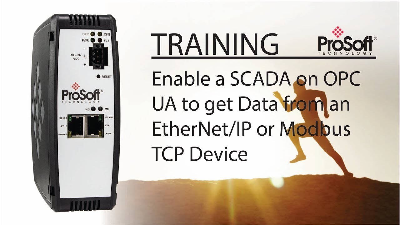 Set Up: Enable a SCADA on OPC UA to get Data from an EtherNet/IP or Modbus  TCP Device