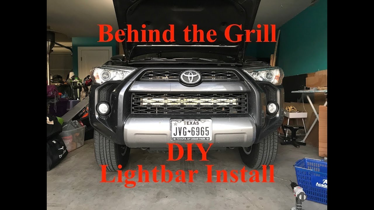 Diy behind the grill lightbar how to 1 lightbar winner jn35 diy behind the grill lightbar how to 1 lightbar winner jn35 mozeypictures Choice Image