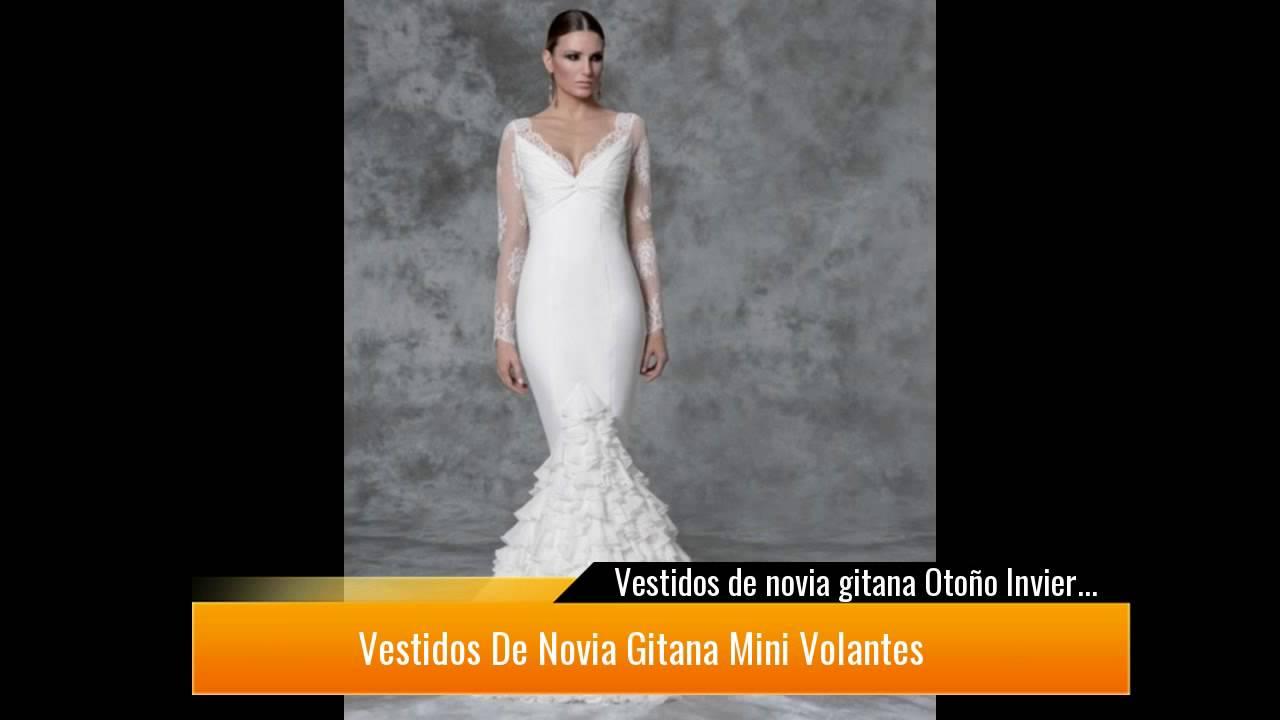 Vestidos de novia gitana 2019