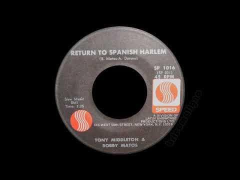 Tony Middleton & Bobby Matos - Return To Spanish Harlem