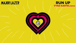 Major Lazer - Run Up (feat. PARTYNEXTDOOR & Nicki Minaj) (Vybz Kartel Remix) (Official Audio)