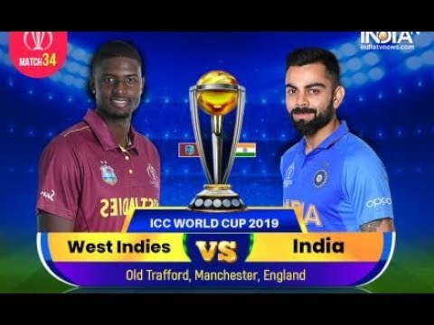 LIVE - ICC World Cup 2019 Live Score India vs West Indies Live Cricket  match highlights today