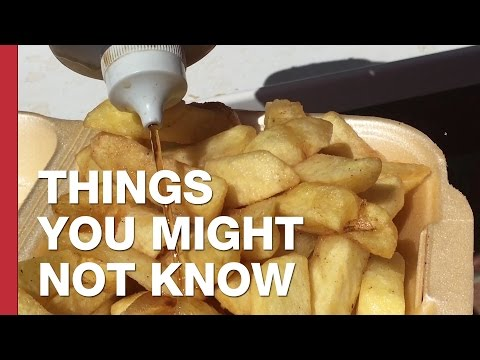 The Fake Vinegar In British Fish and Chip Shops