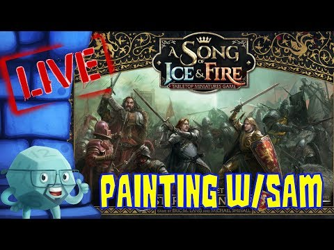 Painting with Sam A Song of Ice and Fire
