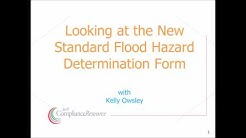 Review of the New Standard Flood Hazard Determination Form