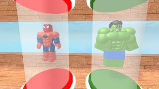 SUPER HERO TYCOON CODE! / ROBLOX