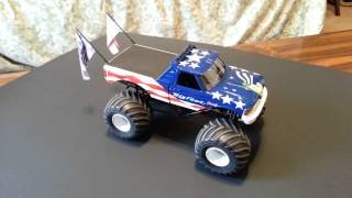 AMT 1/25 scale Bigfoot Monster Truck build  Final