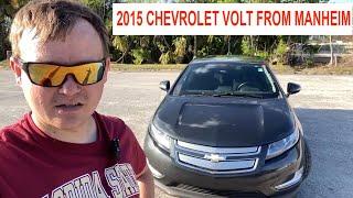 Обзор Chevrolet Volt 2015 г. Vin-2545 Готов к Продаже!  Заказ Авто из США!