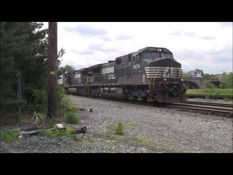 Pennsylvania Railfanning: Allentown and Bethlehem Mother's Day Weekend
