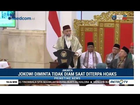 Ulama Aceh Luruskan Hoaks Yang Menyerang Jokowi