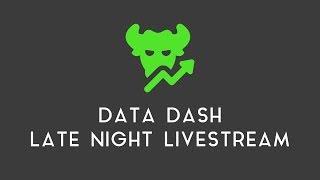 DATA DASH LIVE STREAM   BITCOIN CRASHES
