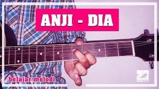 Video ANJI - DIA | Instrumen Melodi Tutorial download MP3, 3GP, MP4, WEBM, AVI, FLV Maret 2018