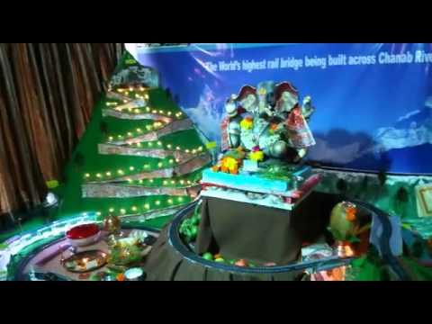 Best Ganpati Decoration At My Home 2015 Youtube