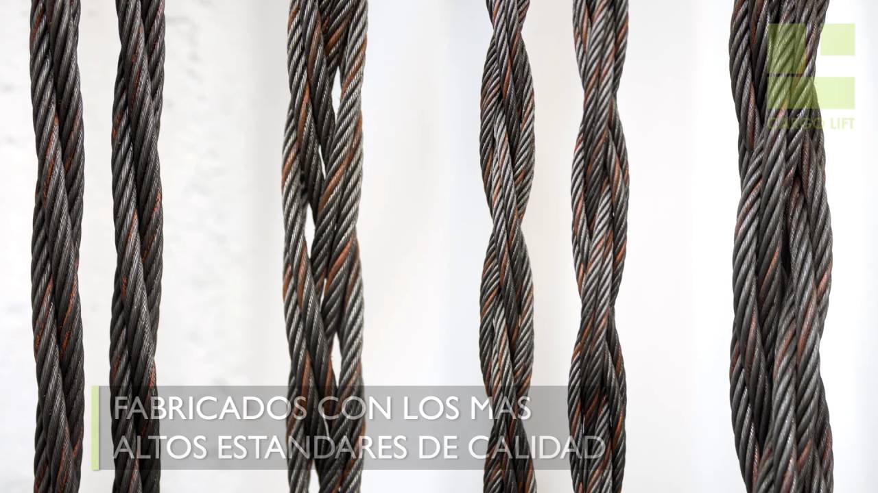 Estrobos de cable de acero youtube - Cables de acero ...