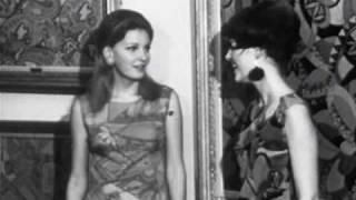 Wally F. Galleries Commercial - Art Dresses Exhibit (1960s) (Black & White Version)