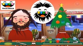 Funny Hair Styling Game for Kids - Toca Hair Salon - Hair Styles for Santa and Christmas Tree