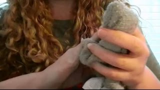 Visual ASMR Wiping The Camera With A Cloth + Unintelligible Whispering [Mouth Sounds]
