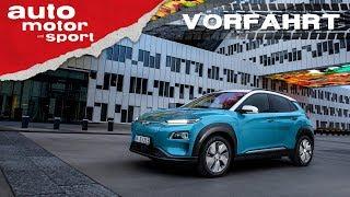 Hyundai Kona Elektro (2018): Das E-Auto für alle? Vorfahrt (Review) | auto motor und sport