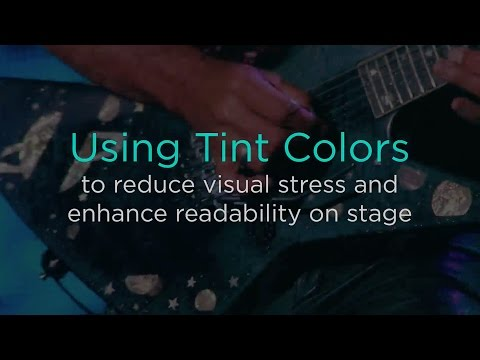 Using Tint Colors to Reduce Visual Stress and Enhance Readability