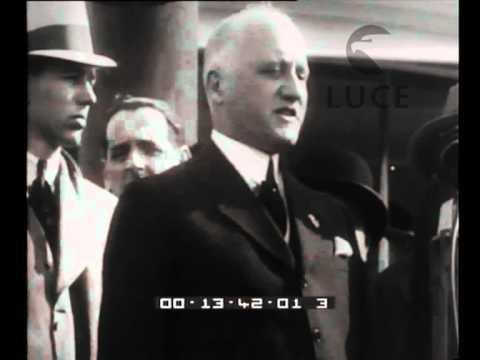 S.E. Jung, Ministro delle Finanze, sbarca a New York per incontrarsi con Roosevelt