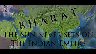 EU4 - Sun Never Sets on the Indian Empire Acheivment - Timelapse