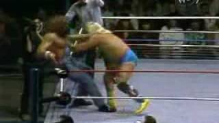 "Hillbilly Jim vs Greg ""The Hammer"" Valentine,1989"