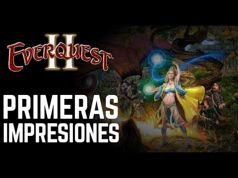EverQuest II MMORPG – Primeras impresiones – Gameplay en Español